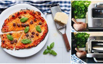 Huisgemaakte pizza met de Pizzaiolo
