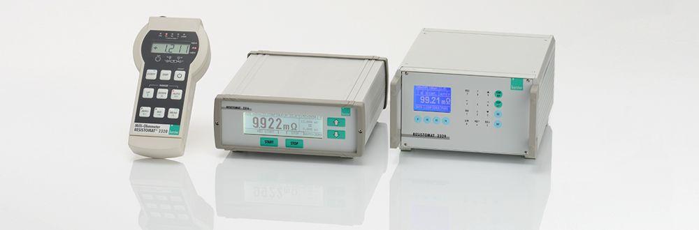 ohmmeters, microhmmeters en milliohmmeters