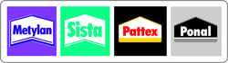 HEES + PETERS_Lieferanten_Befestigung und chemische Produkte_Metylan+Sista+Pattex+Ponal