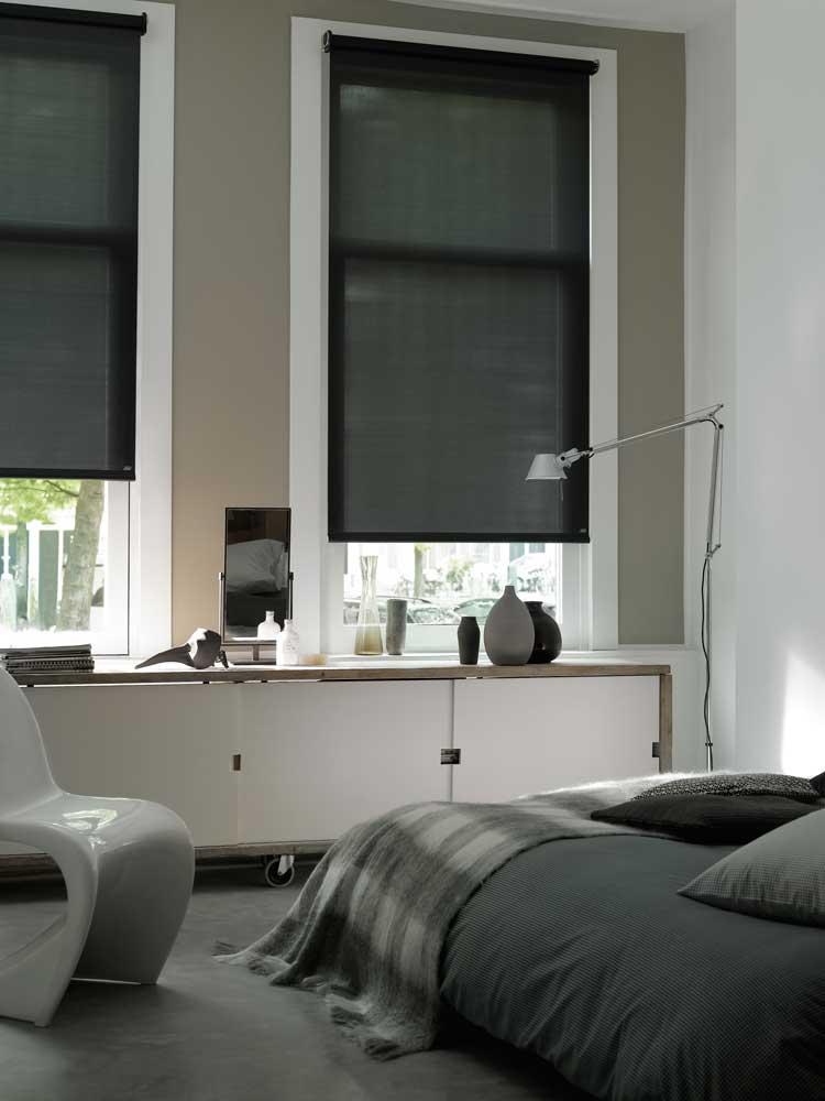 rolgordijnen van Luxaflex en FlexClours  Heezen wonen