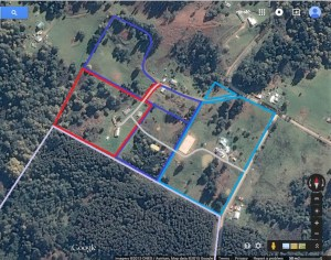 Downes Jr proposed housespot and shared driveways