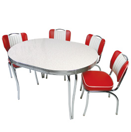 retro tables and chairs bungee chair pink 1950s furniture diner booths restaurant seating stools bars metal