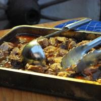 Erste Experimente mit dem Räucherofen: pulled pork water smoked