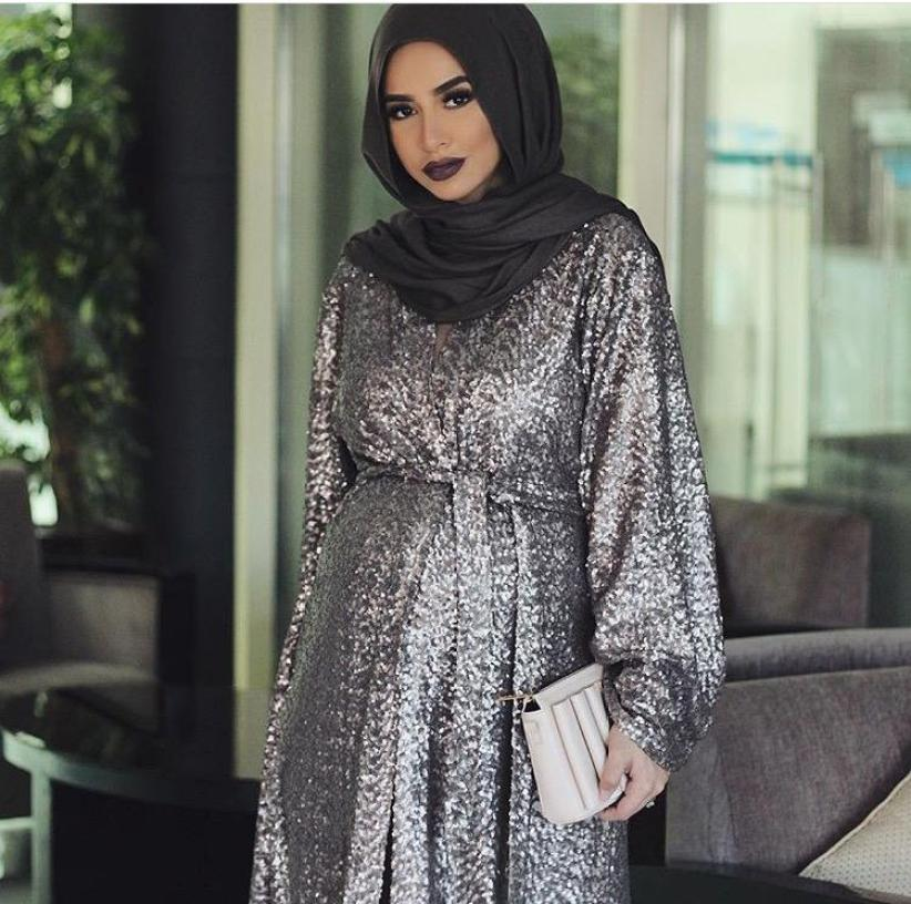 cad5157d32f0d ملابس حوامل للمحجبات 2019 - حجاب دوت نت