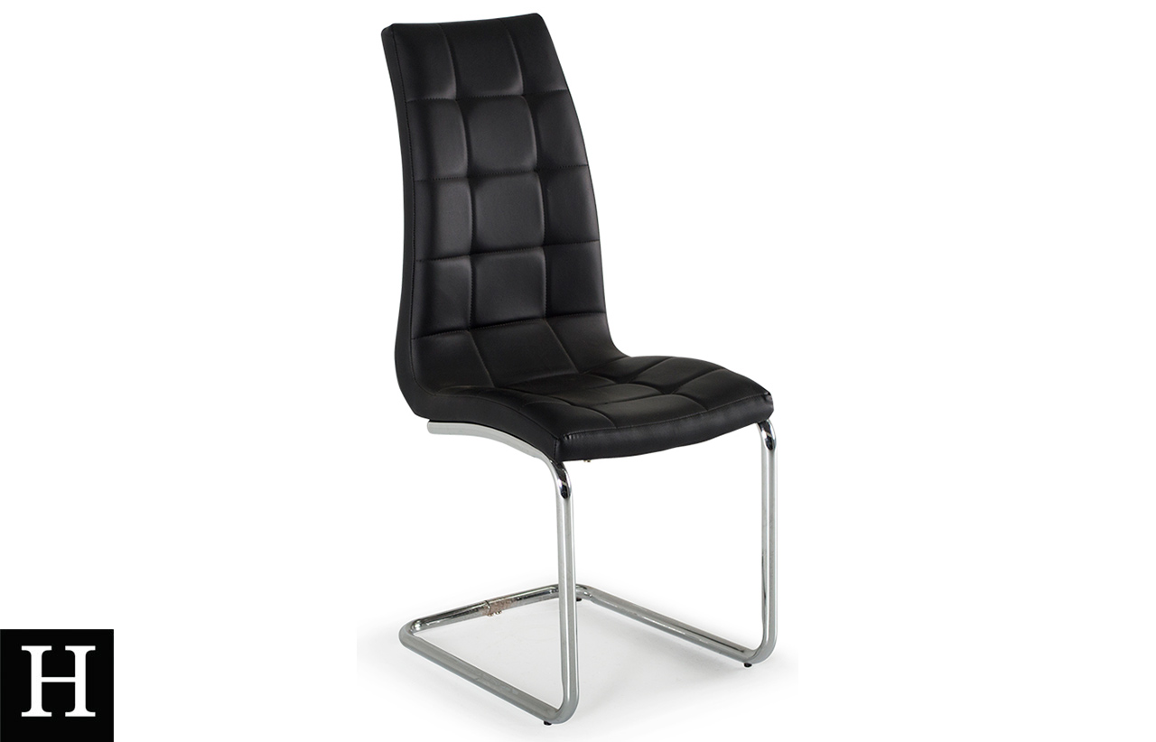 Dining Chair Dimensions The Sienna Dining Chair Black