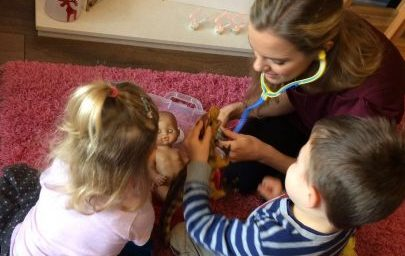 A typical speech and language therapy session with Jayne Hegarty