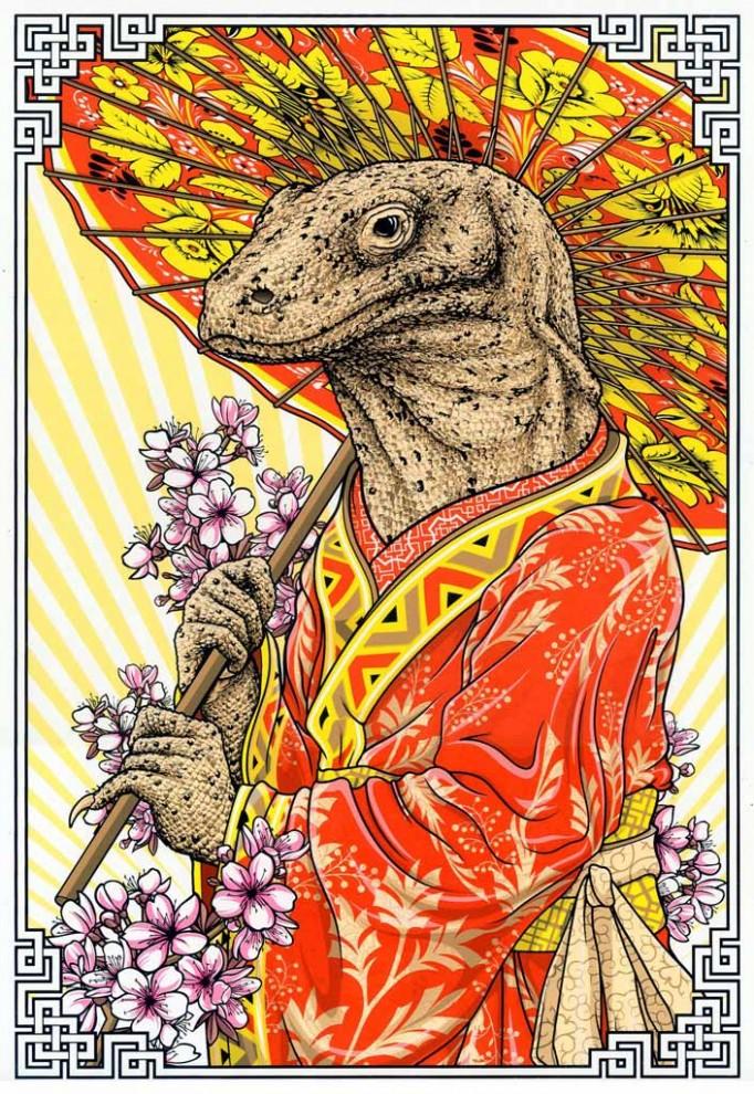 Michael Hegedus  Kimono Dragon