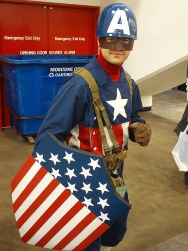 Captain America soldier