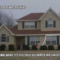How a Lazy (Yet Clever) Person Decorates For Christmas