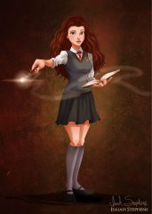 Belle as Hermione Granger