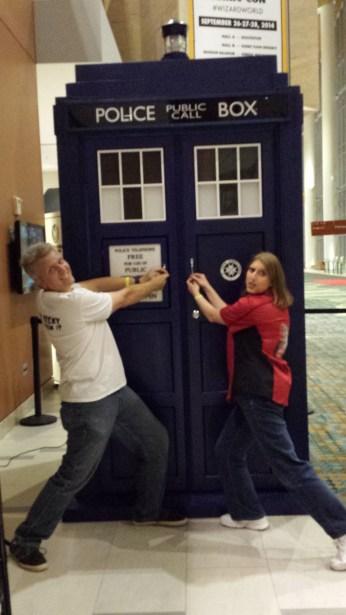 Stealing the TARDIS