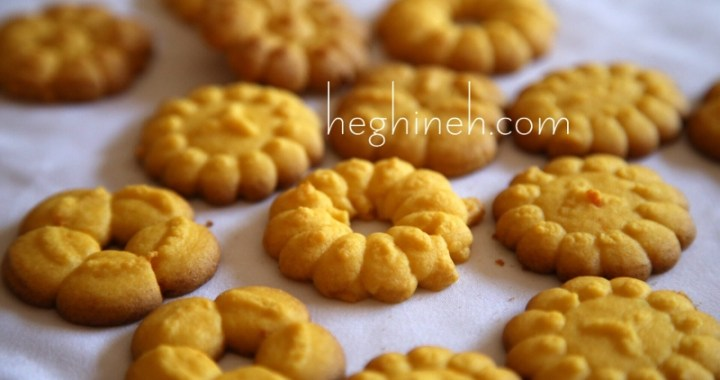 Orange Spritz Cookies Recipe