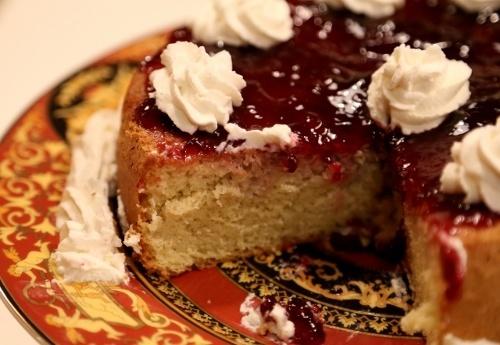 Homemade Sponge Cake Recipe