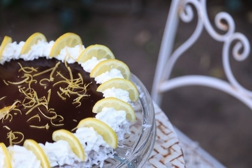 Lemon Chocolate Cheesecake Recipe Heghineh Com