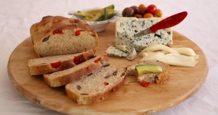 Olive Bread Homemade Bread Recipe
