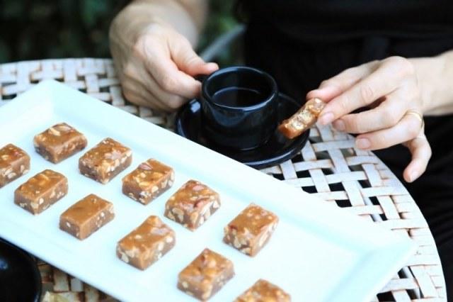 Almond Caramel Bites - Նուշով Կարամել Կոնֆետներ