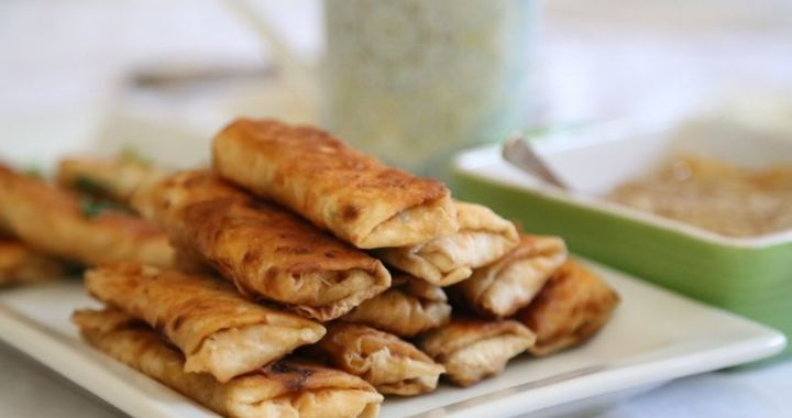 cheese egg rolls