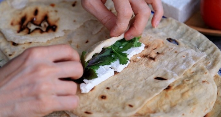 Lavash Bread Recipe Լավաշ Лаваш