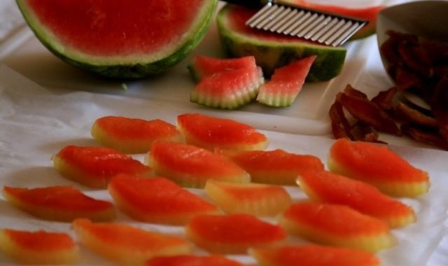 Dried Watermelon Snack Recipe