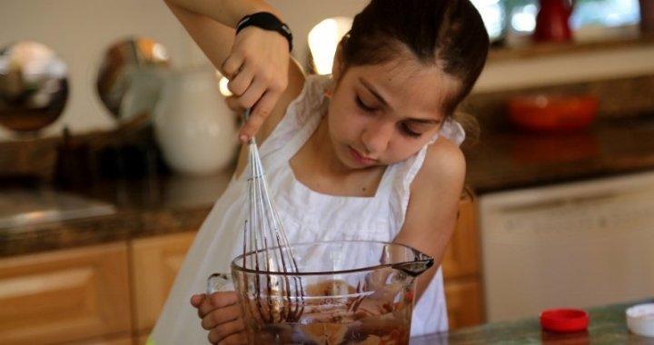 Ferrero Rocher Crumb Cake