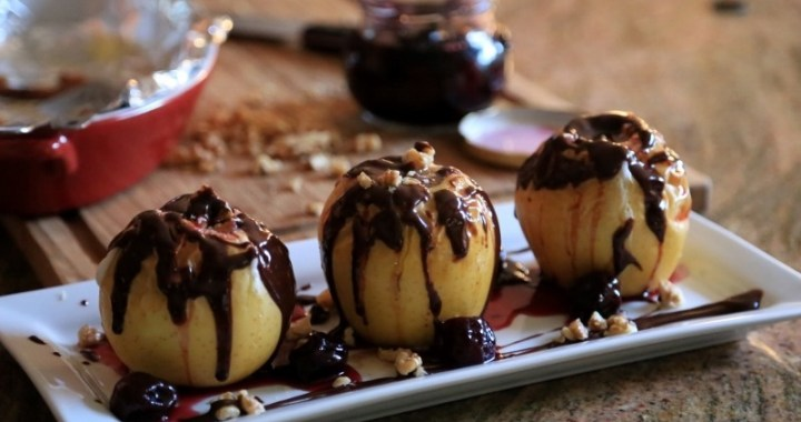 Comfort Food Idea - Baked Apples
