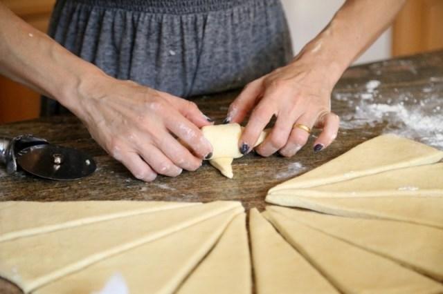 Quick Croissant Recipe - Պանրով Կրուասան