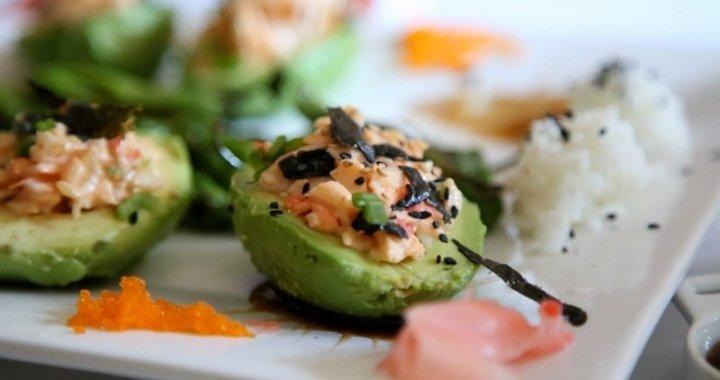 Stuffed Avocado Sushi Salad