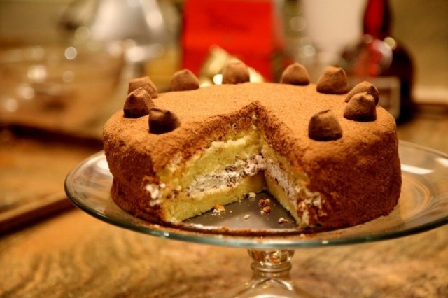 Chocolate Truffle cake Recipe by Heghineh