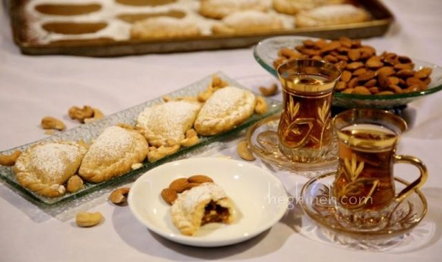 Persian Cookies Ghotab Recipe by Heghineh