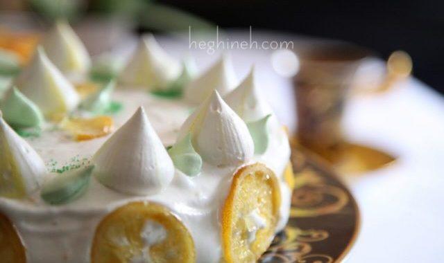 Lemon Meringue Cake - Կիտրոնով Բեզեով Տորթ