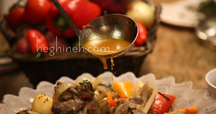 Armenian Khashlama - Lamb Stew Recipe