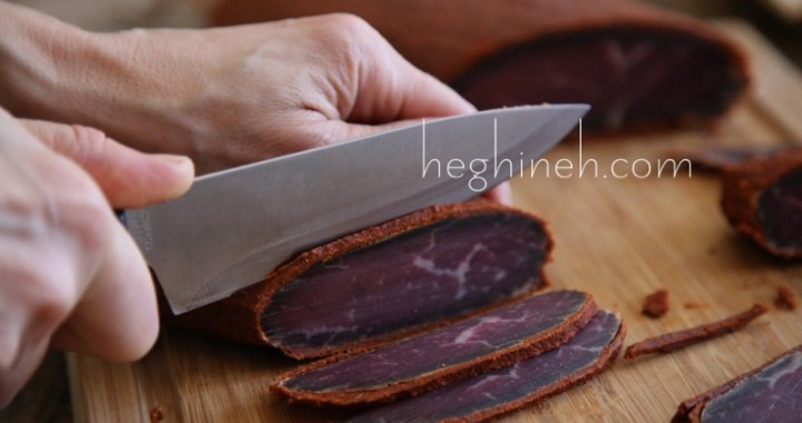 Cured Meat Recipe - Basturma Բաստուրմա Бастурма