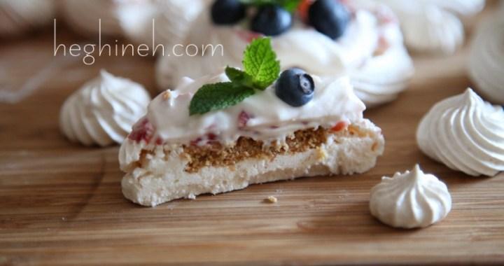 Mini Pavlova Cheesecake Recipe