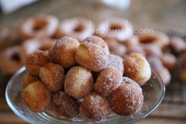 Sugar Glazed Doughnuts Recipe by Heghineh