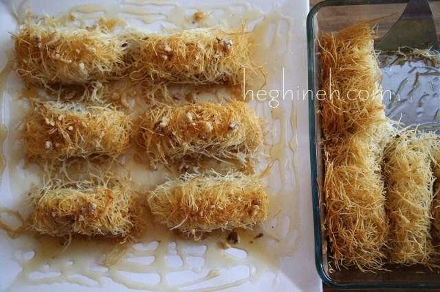 Kunafa Kadaif Recipe - Middle Eastern Desserts