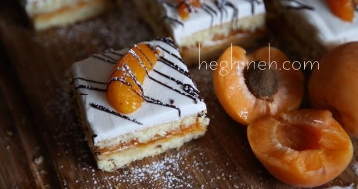 Apricot Cake Bars Recipe