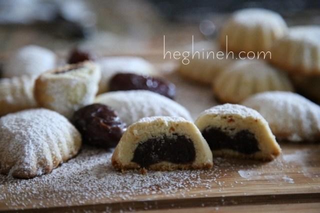 Maamoul Cookies Recipe - Stuffed Cookies