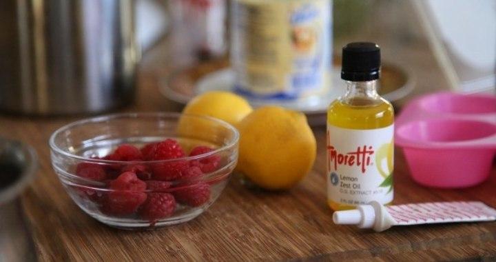 Lemon Raspberry Ice Cream Recipe