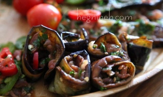 Fried Eggplant Salad Recipe - Սխտորած