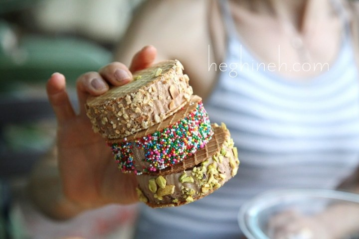 Homemade Chocolate Ice Cream Sandwiches Recipe