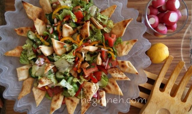 Fattoush Salad Recipe - Middle Eastern Food