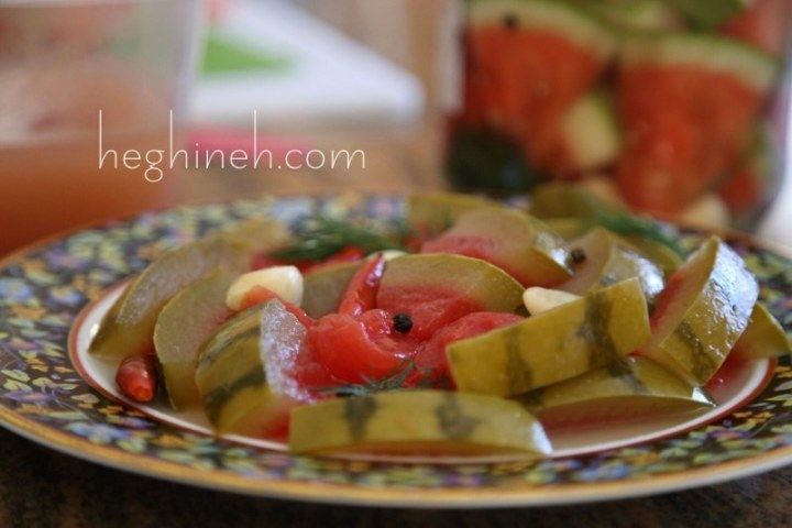 How to Make Pickled Watermelon