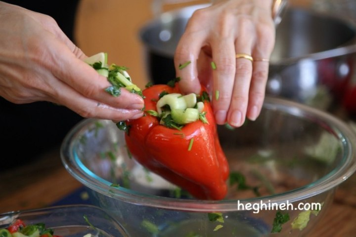 Marinated Red Peppers - Red Pepper Recipes
