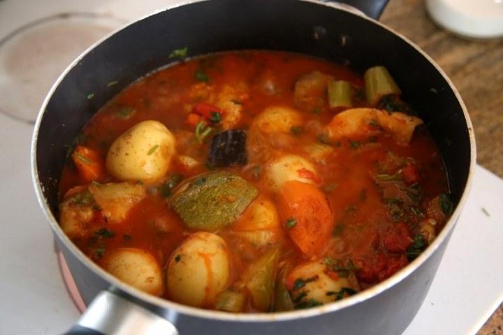 Vegetable Ragout Recipe - Aylazan - Armenian Cuisine