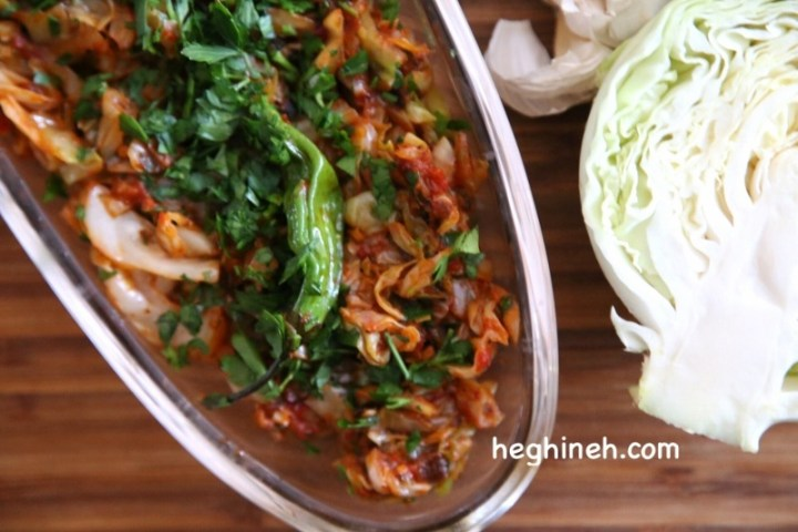 Sauteed Cabbage - Healthy Easy Vegetarian Recipes