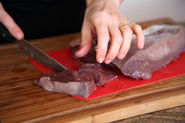 Fried Beef Liver-Tjvjik Տժվժիկ-Armenian Cuisine