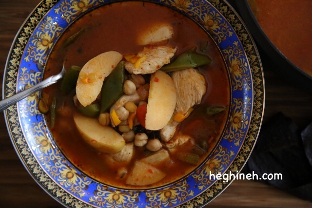 Soup Bozbash Recipe - Armenian cuisine