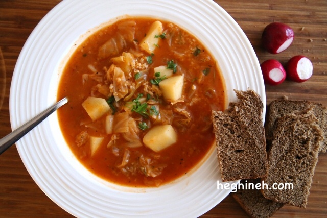 Pickled Cabbage Soup Recipe - Qrchik - Քռչիկ