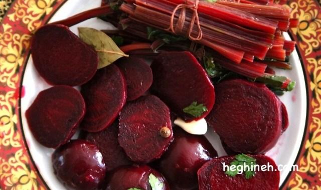 Beetroot Pickle Recipe - Armenian Cuisine