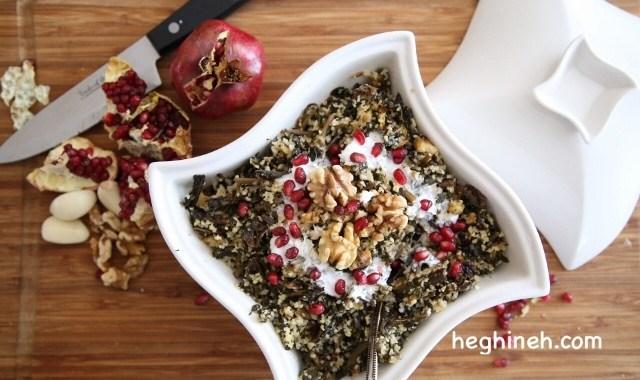 Sorrel Salad Recipe - Armenian Cuisine